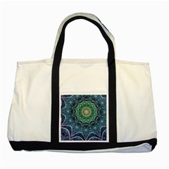 Background Line Light  Two Tone Tote Bag