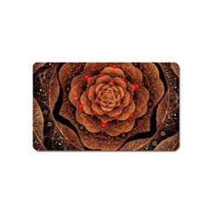 Flower Patterns Petals  Magnet (name Card)