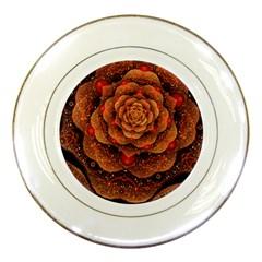Flower Patterns Petals  Porcelain Plates