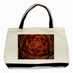 Flower Patterns Petals  Basic Tote Bag