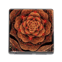 Flower Patterns Petals  Memory Card Reader (square)