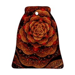 Flower Patterns Petals  Bell Ornament (two Sides)
