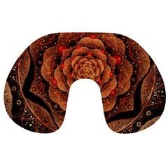 Flower Patterns Petals  Travel Neck Pillows