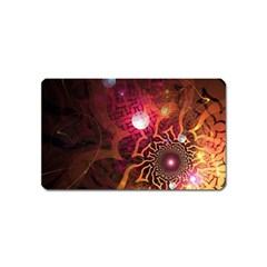 Explosion Background Bright  Magnet (name Card)