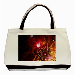 Explosion Background Bright  Basic Tote Bag (two Sides)