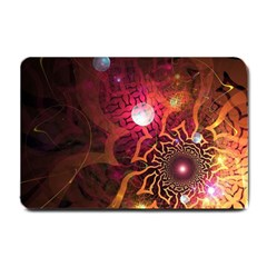 Explosion Background Bright  Small Doormat