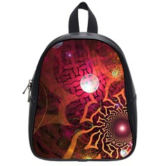 Explosion Background Bright  School Bag (small)