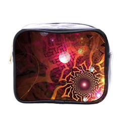 Explosion Background Bright  Mini Toiletries Bags