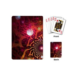 Explosion Background Bright  Playing Cards (mini)