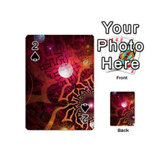 Explosion Background Bright  Playing Cards 54 (mini)
