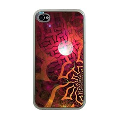 Explosion Background Bright  Apple Iphone 4 Case (clear)