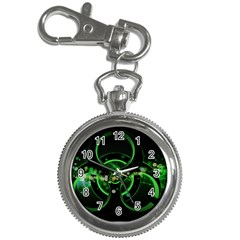Radiation Sign Spot  Key Chain Watches