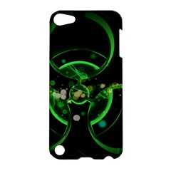 Radiation Sign Spot  Apple Ipod Touch 5 Hardshell Case