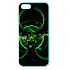 Radiation Sign Spot  Apple Seamless Iphone 5 Case (color)