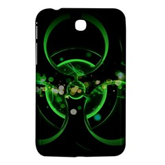 Radiation Sign Spot  Samsung Galaxy Tab 3 (7 ) P3200 Hardshell Case