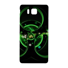 Radiation Sign Spot  Samsung Galaxy Alpha Hardshell Back Case