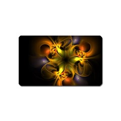 Art Fractal  Magnet (name Card)