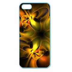 Art Fractal  Apple Seamless Iphone 5 Case (color)