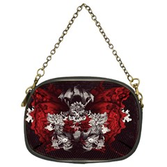 Patterns Bright Background  Chain Purses (one Side)