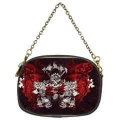 Patterns Bright Background  Chain Purses (two Sides)