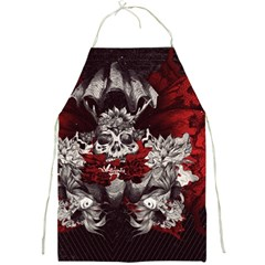 Patterns Bright Background  Full Print Aprons