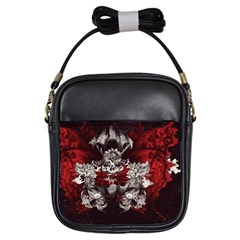 Patterns Bright Background  Girls Sling Bags