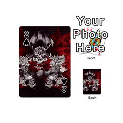 Patterns Bright Background  Playing Cards 54 (mini)