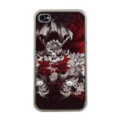 Patterns Bright Background  Apple Iphone 4 Case (clear)