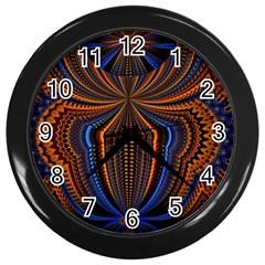 Patterns Light Dark Wall Clocks (black)