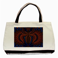 Patterns Light Dark Basic Tote Bag