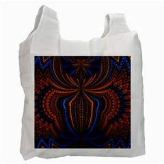 Patterns Light Dark Recycle Bag (two Side)