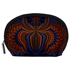 Patterns Light Dark Accessory Pouches (large)