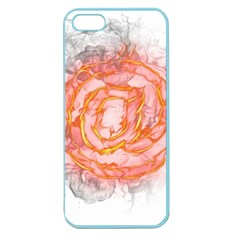 Symbol Fire Flame  Apple Seamless Iphone 5 Case (color)