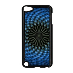 Patterns Circles Rays  Apple Ipod Touch 5 Case (black)