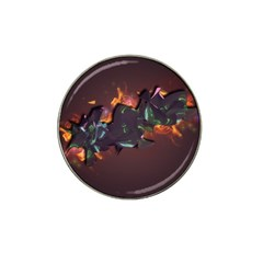 Abstraction Patterns Stripes  Hat Clip Ball Marker (4 Pack)