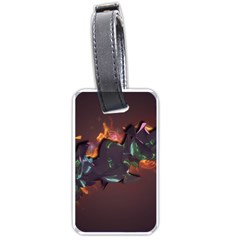 Abstraction Patterns Stripes  Luggage Tags (two Sides)