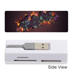 Abstraction Patterns Stripes  Memory Card Reader (stick)