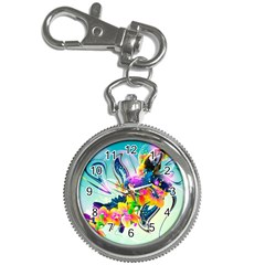 Parrot Abstraction Patterns Key Chain Watches