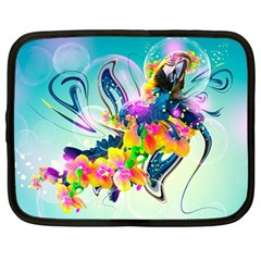 Parrot Abstraction Patterns Netbook Case (large)