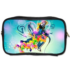 Parrot Abstraction Patterns Toiletries Bags