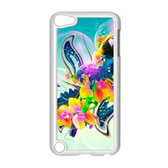 Parrot Abstraction Patterns Apple Ipod Touch 5 Case (white)