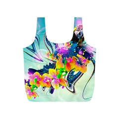Parrot Abstraction Patterns Full Print Recycle Bags (s)