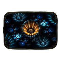 Fractal Flowers Abstract  Netbook Case (medium)