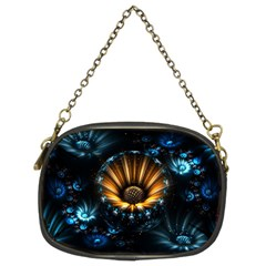 Fractal Flowers Abstract  Chain Purses (two Sides)
