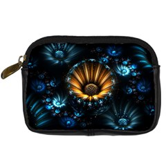 Fractal Flowers Abstract  Digital Camera Cases