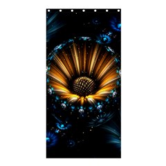 Fractal Flowers Abstract  Shower Curtain 36  X 72  (stall)