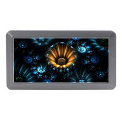 Fractal Flowers Abstract  Memory Card Reader (mini)