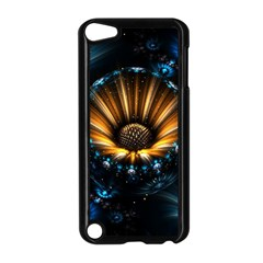 Fractal Flowers Abstract  Apple Ipod Touch 5 Case (black)