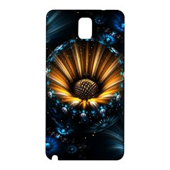 Fractal Flowers Abstract  Samsung Galaxy Note 3 N9005 Hardshell Back Case