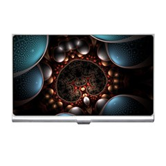 Pattern Fractal Abstract 3840x2400 Business Card Holders